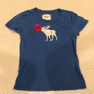 Abercrombie & Fitch Moose Rose Shirt